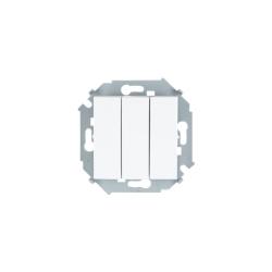 выключатель 3 кл. (бел) 1591391-030 SIMON(20шт. в кор.)