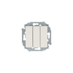 выключатель 3 кл. (крем) 1591391-031 SIMON(20шт. в кор.)