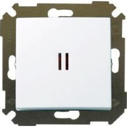 выключатель 1 кл.с подсв. (бел) 34104-030 SIMON