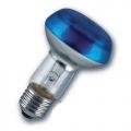 Лампа зеркальная 40Вт R63 E27(голубая) (Philips)