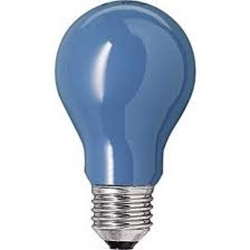 Лампа  накаливания  15w A55 E27 BL(синяя)(Philips)