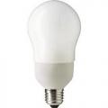 Лампа  комп. люм. NightL ES 9W A65 (2 в 1)