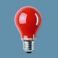 Лампа  накаливания  15w A55 E27 Red(красная)(Philips)