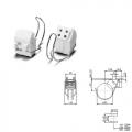 Ламподержатель G-10Q №101528 c H-32 мм с хомутом VS