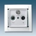 Розетка R-TV-SAT оконечная (бел) 34498-30 SIMON