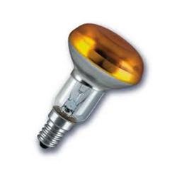 Лампа зеркальная 40Вт R50 E14(жёлтая) (Philips)