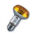 Лампа зеркальная 40Вт R63 E27(желтая) (Philips)