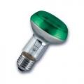 Лампа зеркальная 40Вт R63 E27(зеленая) (Philips)
