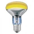Лампа зеркальная 60Вт R80 E27(желтая) (PHILIPS)