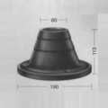 Шасси №1982-114783 основание под стойку Elkamet