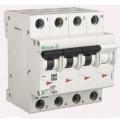 Автомат 4p 25A PL7-B25/3N Moeller