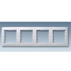 Рамка 4 места MGU2.008.18 (белый) Merlin Gerin