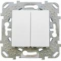 Выключатель 2 кл. (СХ.5) MGU5.211.18ZD (бел)Merlin Gerin
