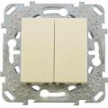 Выключатель 2 кл. (СХ.5) MGU5.211.25ZD (беж) Merlin Gerin