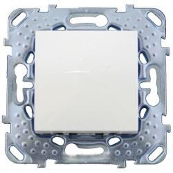 Выключатель 1 кл. кнопочный MGU5.206.18ZD (бел) Merlin Gerin