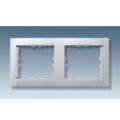 Рамка 2-ная (алюмин.мет) 34620-33 SIMON