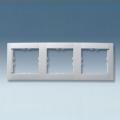 Рамка 3-ная (алюмин.мет) 34630-33 SIMON