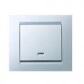 Выключатель 1 кл.с подсв. (бел) 1590104-030 SIMON