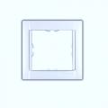 Рамка 1-ная (бел.) 34610-70 SIMON