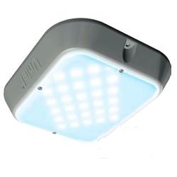 Светильник светодиодный ULT-V12-9,5W/DW  (6500К - дневной) IP65 GREY антивандальный