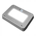 Светильник светодиодный ULT-V31-9,5W/NW  (4500К - белый) SENSOR IP65 SILVER антивандальный