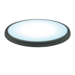Светильник светодиодный ULW-O01-6W/DW  (5500К - дневной) IP54 BLACK (ОВАЛ)