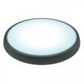Светильник светодиодный ULW-R01-6W/DW  (5500К - дневной) IP54 BLACK (КРУГ)