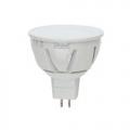 Лампа LED-JCDR-7W/WW/GU5.3/FR/DIM ALP01WH