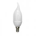 Лампа LED-CW37-6W/WW/E14/FR/DIM AlP01WH