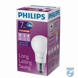 Лампа  LED Bulb 7-60W, E27,3000K А60, (12шт. в кор.) (Philips)