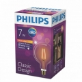 Лампа  LED Classic 7-60W G120 E27 2000K GAPR (Philips)