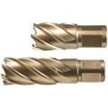 Корончатое сверло HSS-Co-Eco хвостовиком Weldon 19,0 мм d45х50