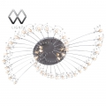 MW-Light № 244011738   (Каскад) люстра(пульт)