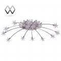 MW-Light № 244012212   (Каскад) люстра(пульт)