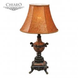 Chiaro № 254031601   (Версаче) Версаче 1*60W Е27 220 V наст. лампа
