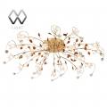 MW-Light № 294011818   (Подснежник) Подснежник золото 18*20W G4  12 V люстра(пульт)
