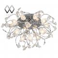 MW-Light № 294013316   (Подснежник) Подснежник хром 16*20W G4 12 V люстра (пульт)
