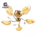 DeMarkt № 336010505   (Сабрина) Сабрина золото 5*60W Е14 220 V люстра