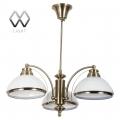 MW-Light № 347010403   (Фелиция)  Фелиция бронза антик 3*60W Е27 220 V люстра