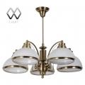 MW-Light № 347010605   (Фелиция) Фелиция бронза антик 5*60W Е27 220 V люстра