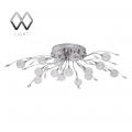 MW-Light № 360010316   (Амелия) Амелия хром 16*G4 20W 12 V люстра(пульт)