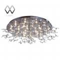 MW-Light № 360011424   (Амелия) Амелия хром 24*20W G4 12 V люстра
