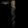 Chiaro № 384011306   (Каскад 02) Каскад02 золото 6* 50W GU10 люстра(пульт)