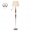 MW-Light № 440040101   (Честер) Честер 1*60W E27+LED*1W 220 V торшер