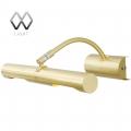 MW-Light № 502020802   (Вернисаж) Вернисаж золото матовое 2*35W G9 220 V спот