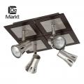 DeMarkt № 503020504   (Арктур) спот (без лампочек в комплекте)