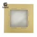 DeMarkt № 507020901   (Кредо) Кредо золото матовое 1*100W R7S 220 V