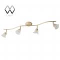 MW-Light № 512020404   (Адель) Адель 4*40W G9 220 V спот