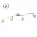 MW-Light № 512020704   (Адель) спот (без лампочек в комплекте)