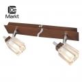 DeMarkt № 518020602   (Лайн) спот (без лампочек в комплекте)